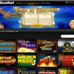 Goalbet Casino games