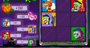Halloweenies Scratch Card