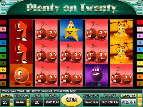 plenty casino