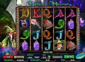 Merlin's Millions φρουτάκι
