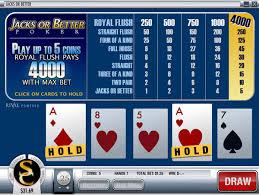 στρατηγική video poker