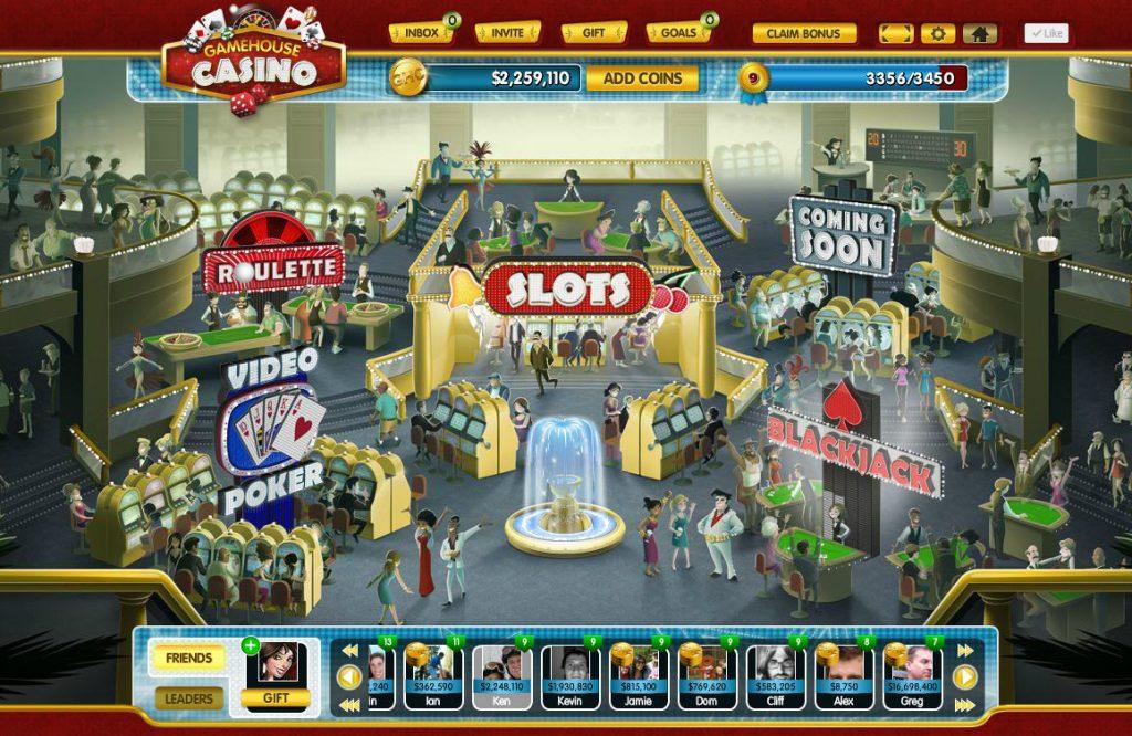 social casino facebook