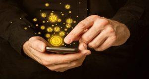 Bitcoins κινητό