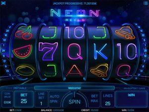 Neon Reels φρουτάκι