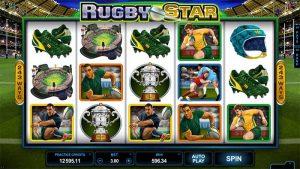 Rugby Star φρουτάκι