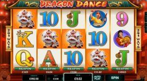 Dragon Dance φρουτάκι