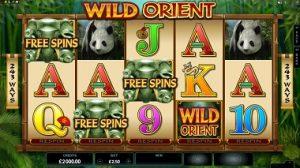 Wild Orient φρουτάκι