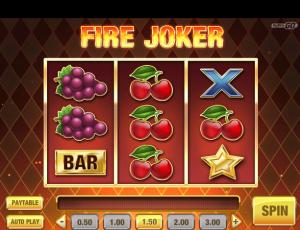 φρουτάκι Fire Joker