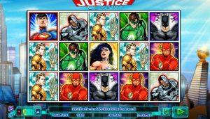 Justice League φρουτάκι