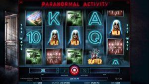 Paranormal activity φρουτάκι