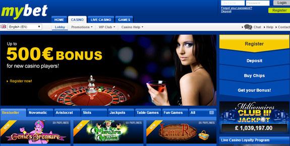 Mybet Casino 2