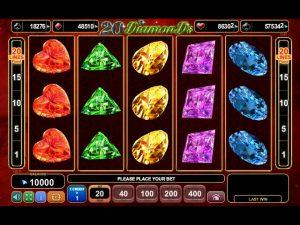 20 diamonds slot machine