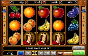 Fruits Kingdom φρουτάκι