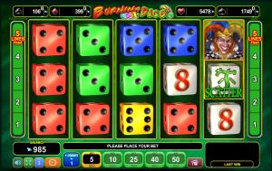 burning dice 22