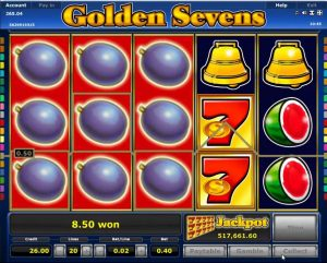 Golden Sevens φρουτάκι