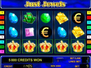 Just Jewels φρουτάκι