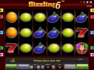 sizzling 6 φρουτάκι