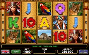 aztec glory slot machine