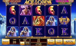 Μοίρασε 834.067€ το Age of the Gods!