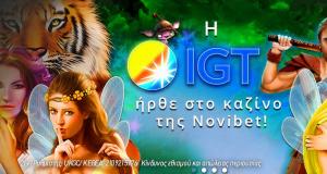 Tα παιχνίδια της IGT στο καζίνο της Novibet!