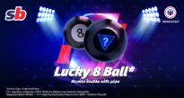 Lucky 8 Ball* στο καζίνο της Sportingbet, με δυνατά έπαθλα*!